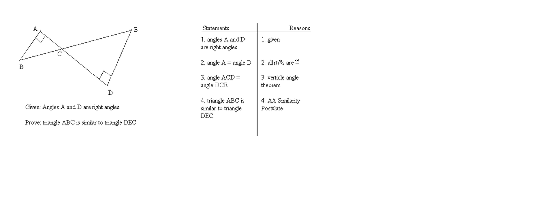AA Similarity (postulate 22) - Jemaul Geometry